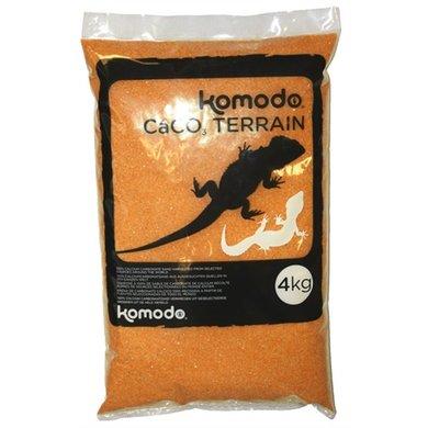 Komodo Caco Zand Terracotta 4 Kg