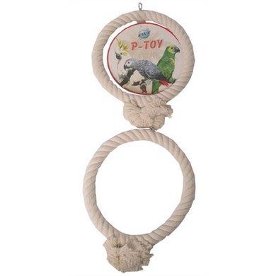 Agradi Speelgoed Papegaai XL 33cm 2 Ringen