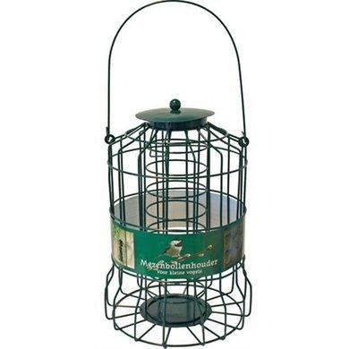 Metalen Mezenbollenhouder Voor Kleine Vogels Groen 17x24cm