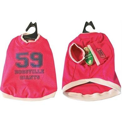 Boony Honden T-shirt Dogsville Giants Roze 20cm