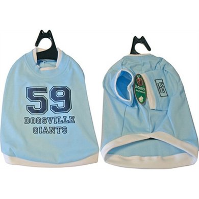 Boony Honden T-shirt Dogsville Giants Blauw 20cm