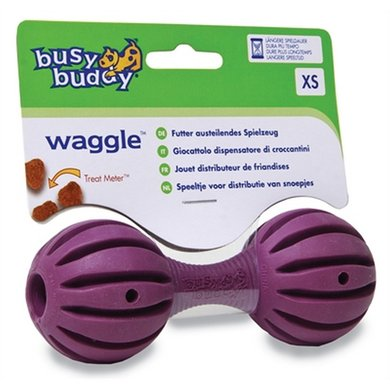Premier Busy Buddy Waggle Barbell Halter XS