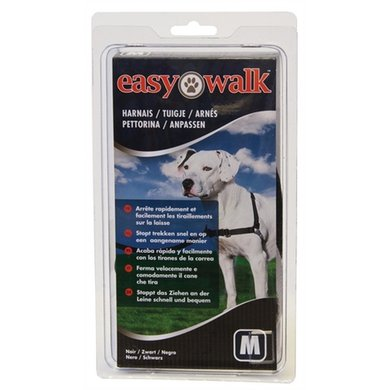 Premier Easy Walk Anti-trek Tuig Zwart M