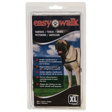 Premier Easy Walk Anti-trek Tuig Zwart XL