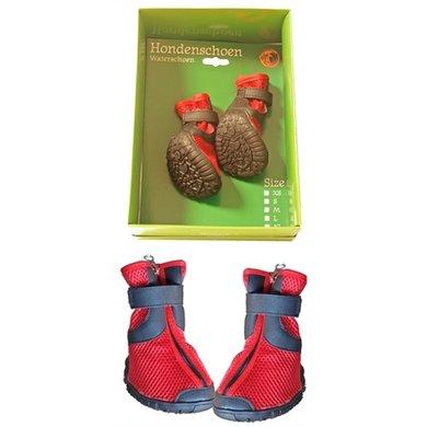 Boony Waterhondenschoenen Rood/zwart Large