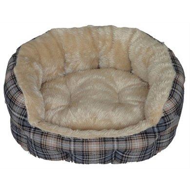 Hondenbed Victoria Rond 58x52x23cm
