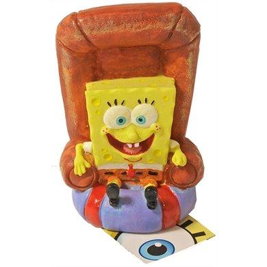 Penn Plax Ornament Spongebob In Stoel 13cm