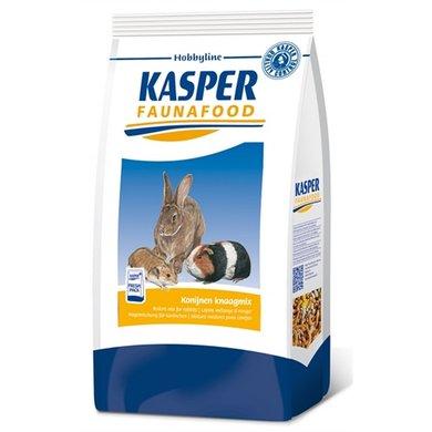 Kasper Faunafood Hobbyline Konijnen Knaagmix 3,5kg