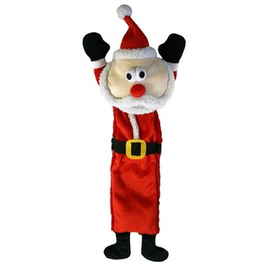 Happy Pet Unstuffed Kerstman Honden Speelgoed Jumbo 50cm