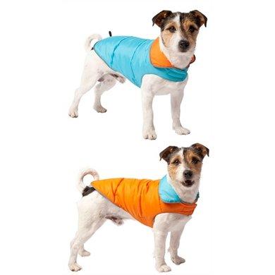 Adori Hondenjas Omkeerbaar Blauw/Oranje 20cm