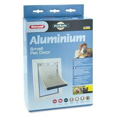 PetSafe Kattenluik tot 7kg Aluminium/Wit 600ML
