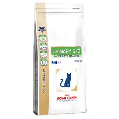 Royal Canin Veterinary Diet Kat Urinary S/O Moderate C 3,5kg