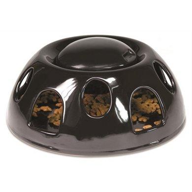 Voerbak Tiger Ceramic Zwart