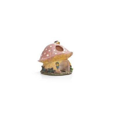 Beeztees Polyresin Hamsterhuis Paddestoel