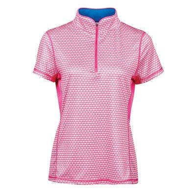Dublin Shirt Kylee Korte Mouwen Carmine Pink
