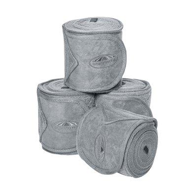 Weatherbeeta Fleece Bandages Prime 4 Stuks Grijs 3,5m