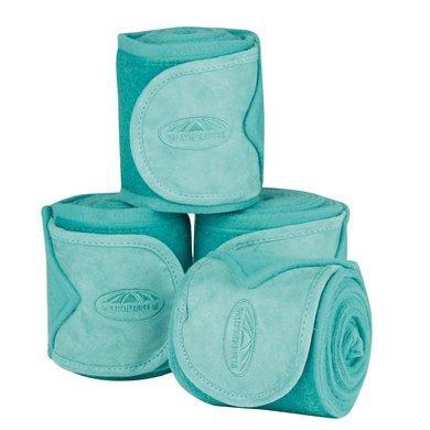 Weatherbeeta Fleece Bandages Prime 4 Stuks Turquoise 3,5m
