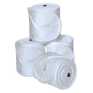 Weatherbeeta Fleece Bandages Prime 4 Stuks Wit 3,5m