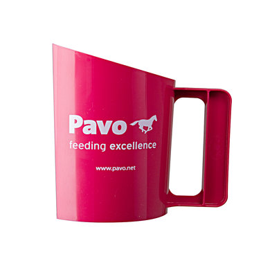 Pavo Feed Scoop Synthetic Fuchsia 1,5kg