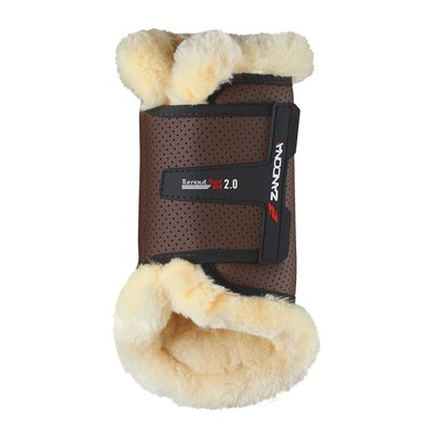Zandona Tendon Boots Turnout Boot 2.0 Front Brown