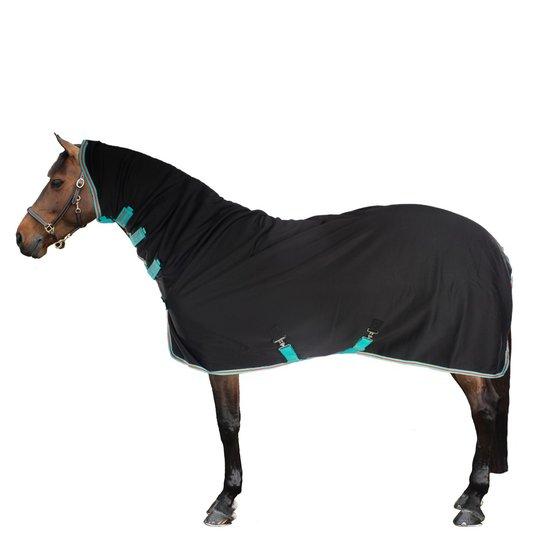 Horseware Amigo Net Cooler Black//Teal /& Dark Cherry