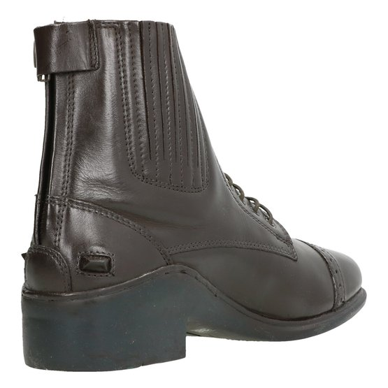 HKM Horse Riding Jodhpur Boots With Laces//Zip Profi quality leather elasticate