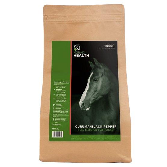 Agradi Health Kurkuma/Zwarte Peper 1kg