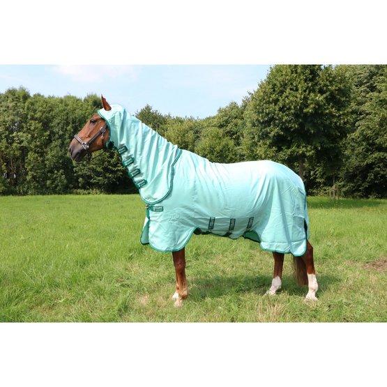 Horseware Ekzemerdecke Rambo Hoody Ice-Green//Green