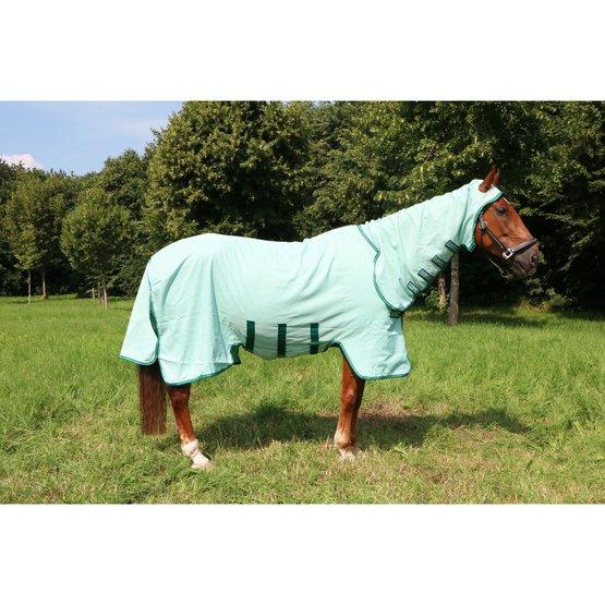Horseware Rambo Sweetitch Hoody mouches Couverture Ekzemerdecke 125 avec mouches masque