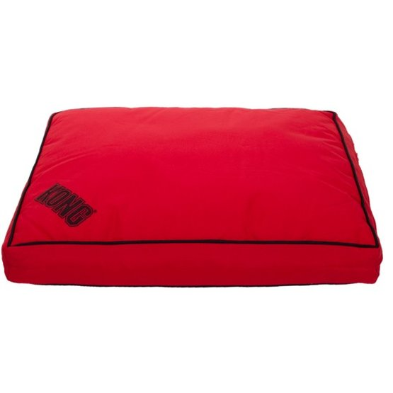 Kong Dog Bed Rectangle Red