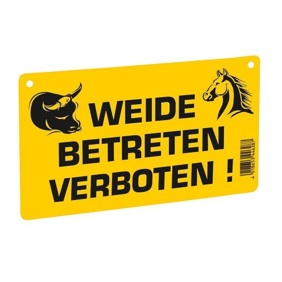 """5 x Warnschild /"""" Füttern verboten /""""  Schild  Weidezaun"""