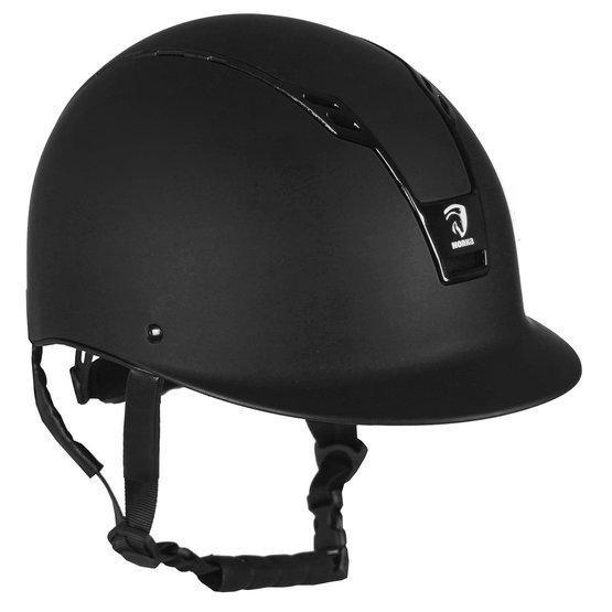 Charles Owen YR8 Équitation Chapeau-Noir//Noir Sparkle