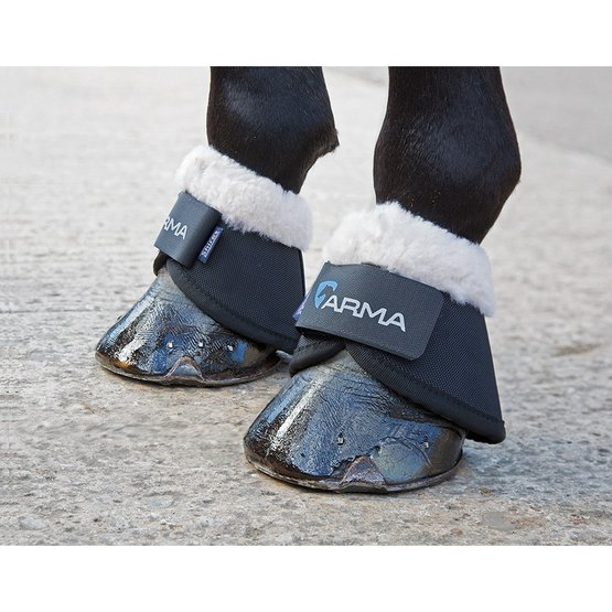 Black Shires Arma Neoprene Over Reach Boots